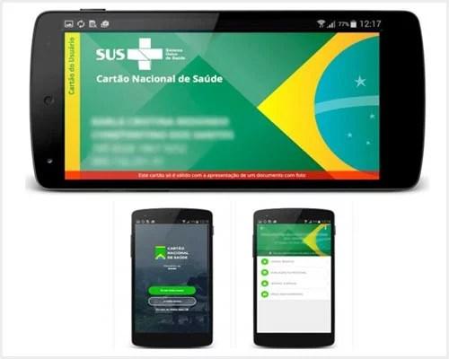 Cartão do SUS recebe versão digital através de aplicativo