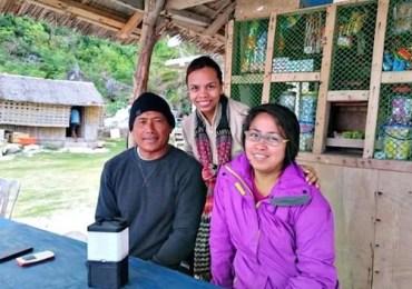 Jovens filipinos criam lâmpada de água salgada