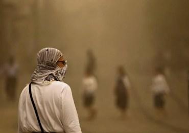 Tempestade de areia deixa 160 pessoas hospitalizadas no Líbano