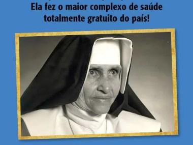 Obras Sociais Irmã Dulce cria secretaria de canonização