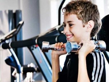 Os riscos da musculação na adolescência