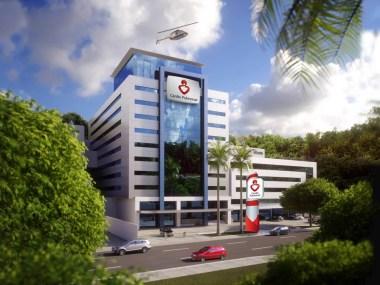 Hospital investe R$ 180 mi em ampliação