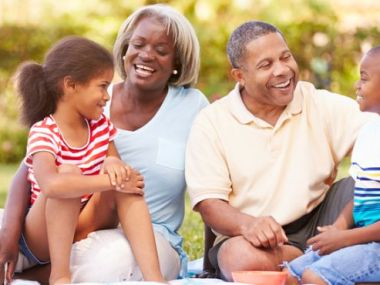 Expectativa de vida para os avós