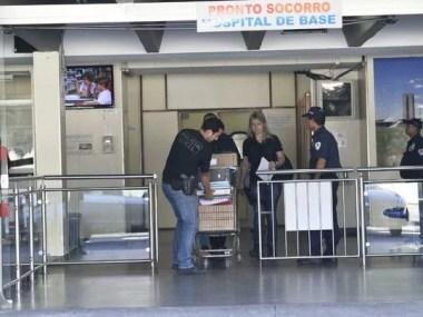 Polícia investiga fraude em folha de ponto de médicos do Hospital Base