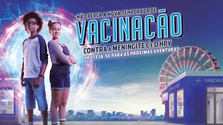 MS quer vacinar 10 milhões de jovens e adolescentes contra meningite e HPV