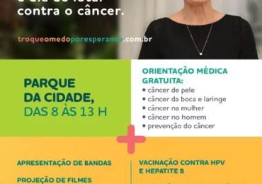 Salvador: Parque da Cidade sediará ação de combate ao câncer