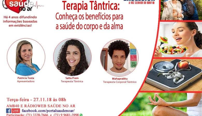 Terapia Tântrica e os beneficios para a Saúde.