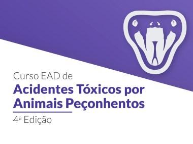 Inscrições abertas para curso de acidentes tóxicos por animais peçonhentos
