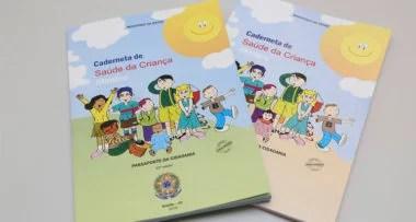Cadernetas de saúde da criança estão sendo enviadas aos estados