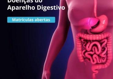 Matrículas abertas para curso online Doenças do Aparelho Digestivo