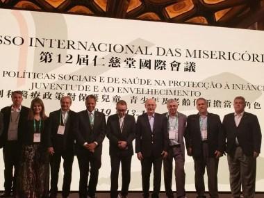 CMB no 12º Congresso da Confederação Internacional das Misericórdias