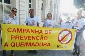 Hospital Regional de Juazeiro faz alerta sobre queimaduras