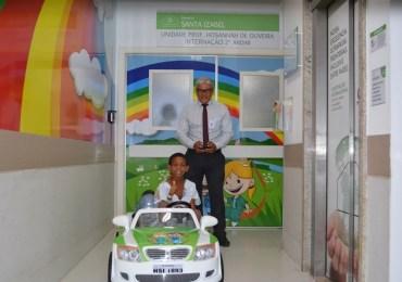 Hospital Santa Izabel investe em aplicativo de transporte interno para pacientes