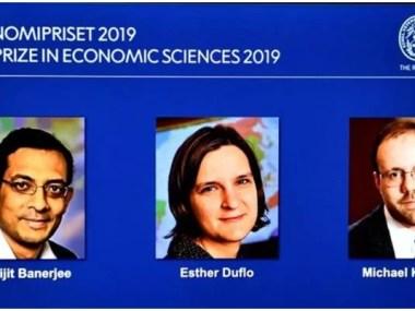 Nobel de Economia de 2019 vai para pioneiros na luta contra a pobreza