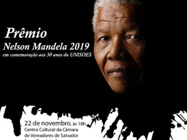 UNISOES comemora 30 anos com entrega do Prêmio Nelson Mandela