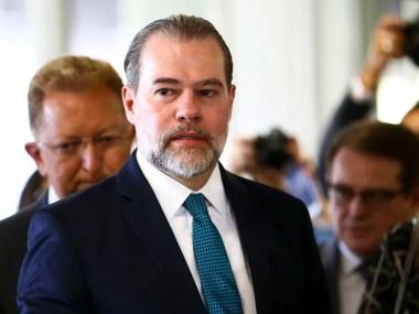 Covid 19 - Exame do presidente do STF, Dias Toffoli, deu negativo