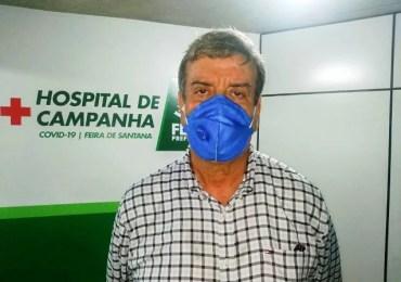 Feira de Santana - Prefeito inaugura hospital de Campanha
