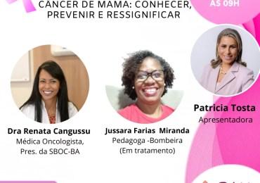 Câncer de mama, conhecer, prevenir e transformar