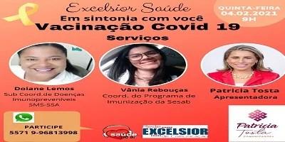 Vacinação no município de Salvador e Estado da Bahia, quais os serviços disponíveis e como acessar?