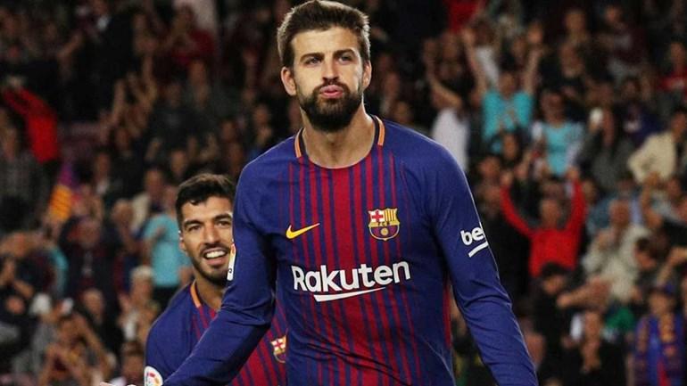 Torcedores do Espanyol não foram simpáticos com o Shakira e o jogador do Barcelona no jogo pela Taça do Rei.