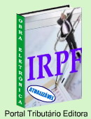 O Manual do IRPF abrange questões teóricas e práticas sobre o imposto de renda das pessoas físicas, perguntas e respostas e exemplos de cálculos, conteúdo atualizado e linguagem acessível . Clique aqui para mais informações.