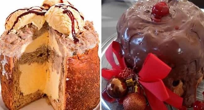 panetone-recheado-com-sorvete-e-cobertura-de-chocolate