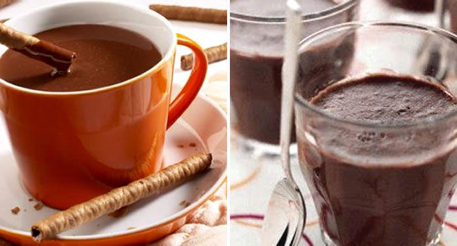 chocolate cremoso ideal para o inverno