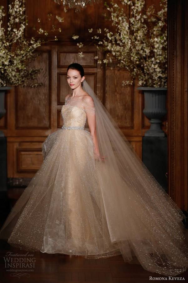 romona-keveza-collection-bridal-spring-2014-future-wedding-dress-glittery-ball-gown