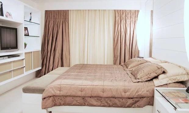 decoracao-quarto-casal-cortinas-luxuosas
