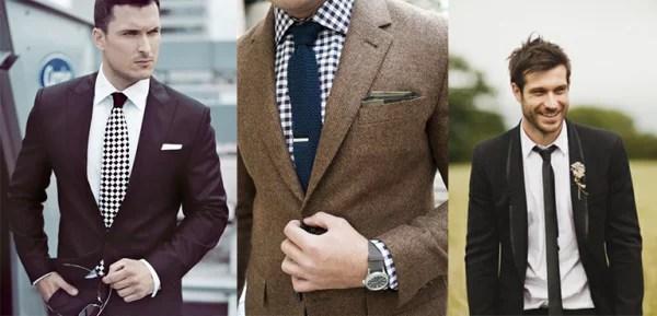 como usar camisa com gravata