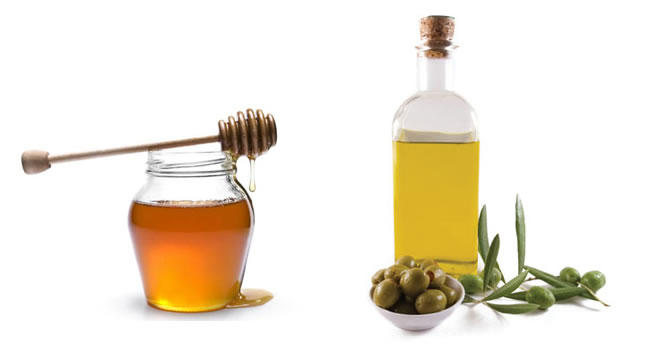 azeite de oliva e mel
