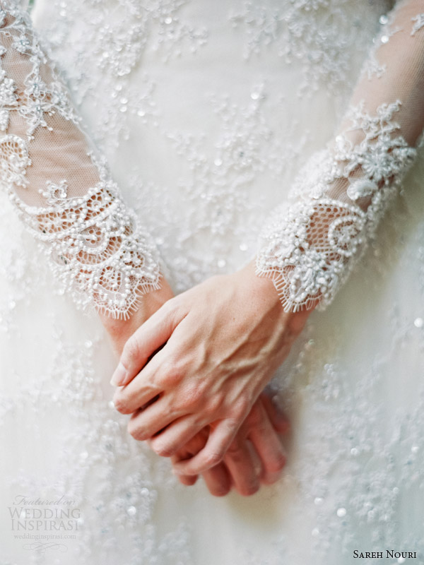 sareh-nouri-bridal-fall-2014-queen-elizabeth-long-sleeve-lace-wedding-dress-detail