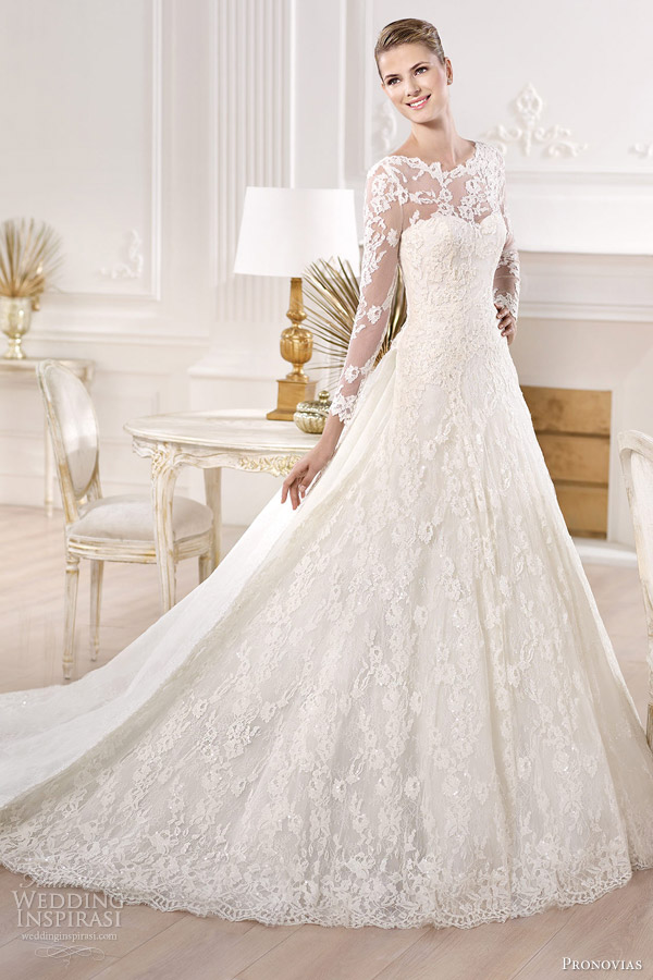 9-pronovias-bridal-2014-atelier-collection-yesuru-long-sleeve-wedding-dress