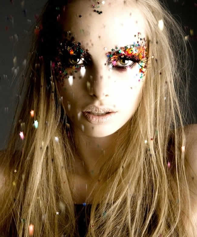 maquiagem-carnaval-estrelinhas-olhos