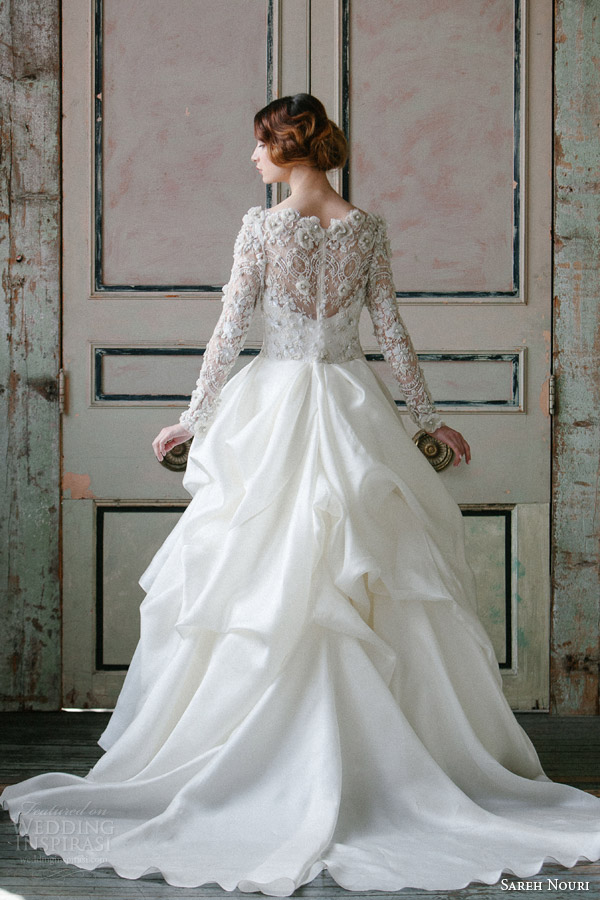 sareh-nouri-spring-2015-off-shoulder-long-sleeve-wedding-dress-asi-back-view