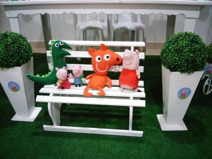 decoracao festa infantil peppa pig