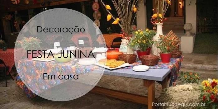 enfeites típicos na decoração de festa junina