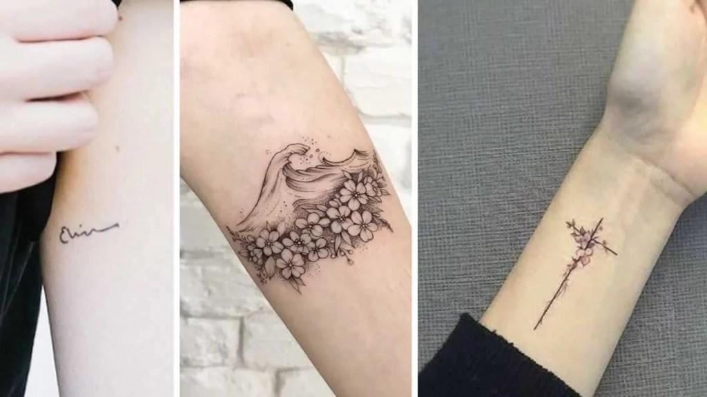 Tatuagem Pequena No Braco Fotos E Dicas Para Se Inspirar