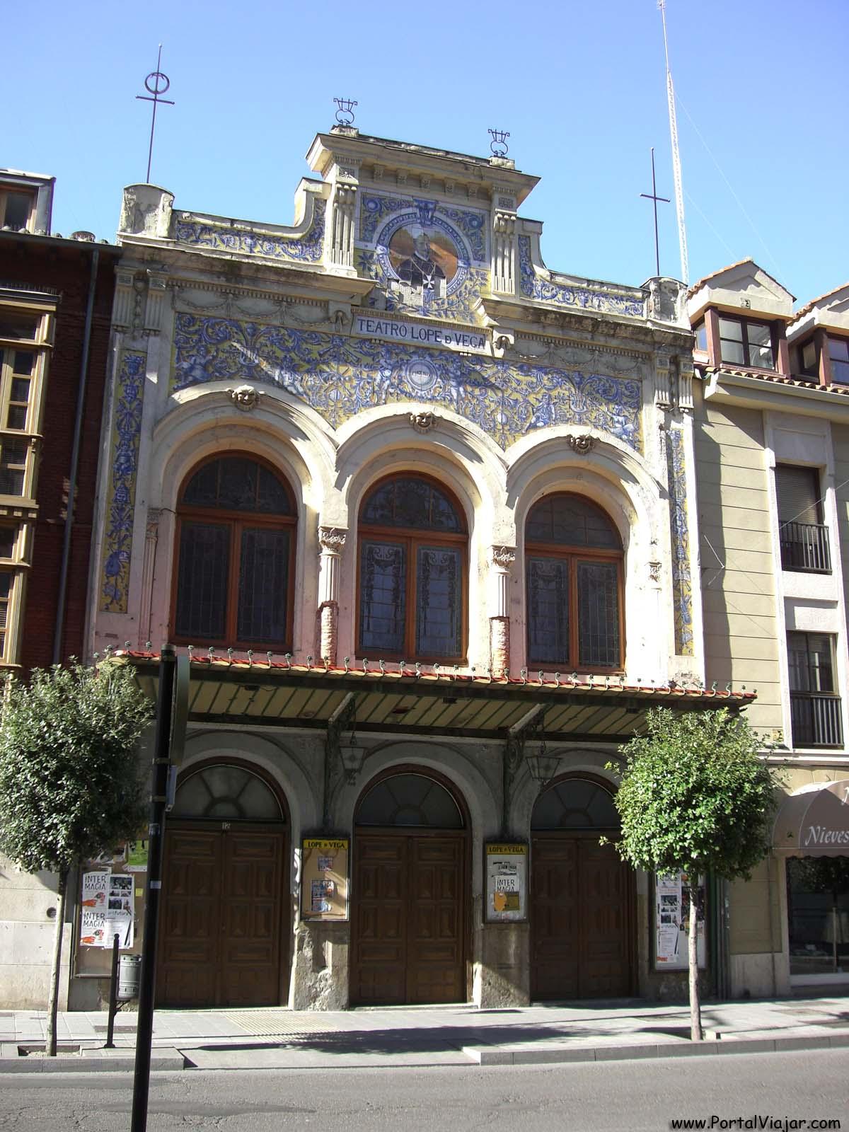 El Teatro Lope de Vega de Valladolid. (Imagen: Portal Viajar).