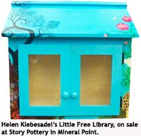 Helen Klebesadel's Little Free Library