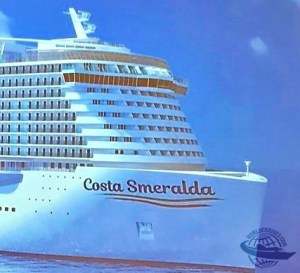 Resultado de imagem para navio Costa Smeralda