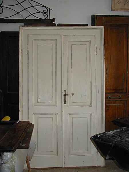 Porta Antica In Legno Restaurata In Shabby Chic Portantica
