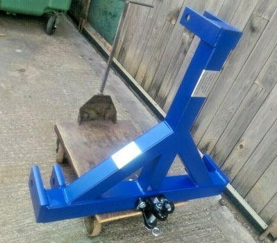 Heavy Tractor 3 Point Linkage Mount/Loader/Trailer Tow Lift Ball & Pin Hitch