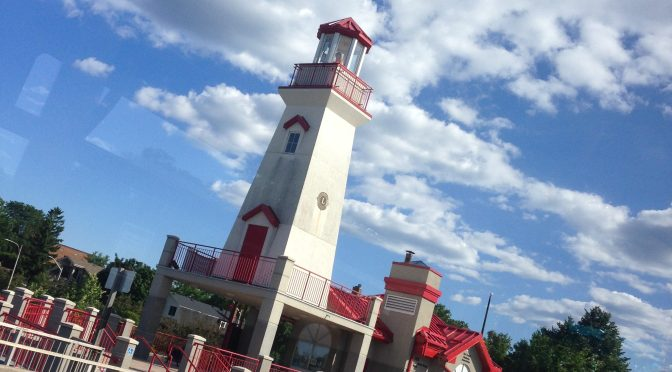 PORT CREDIT'S LIGHTHOUSE COMES TO LIFE