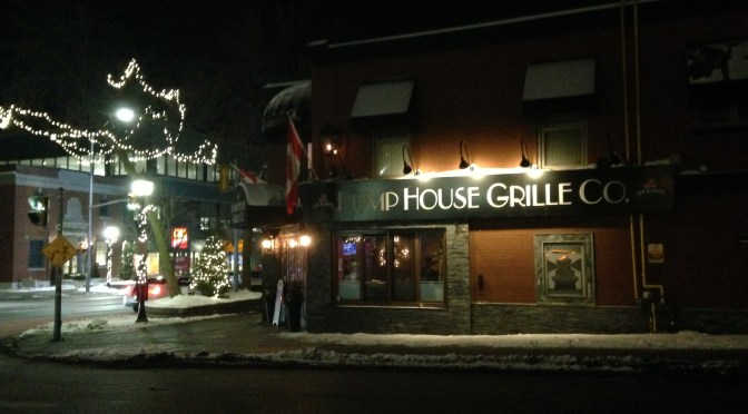 Port Credit Take-Out:  Pumphouse Grille