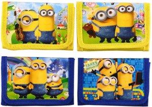 kinderwallet Minions portemonnee voor kinderen van de verschrikkelijke ikke