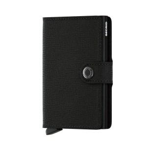 Secrid Mini Wallet Portemonnee Crisple Black