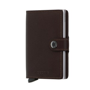 Secrid Mini Wallet Portemonnee Original Dark Brown
