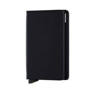 Secrid Slim Wallet Portemonnee Crisple Black
