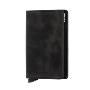 Secrid Slim Wallet Portemonnee Vintage Black